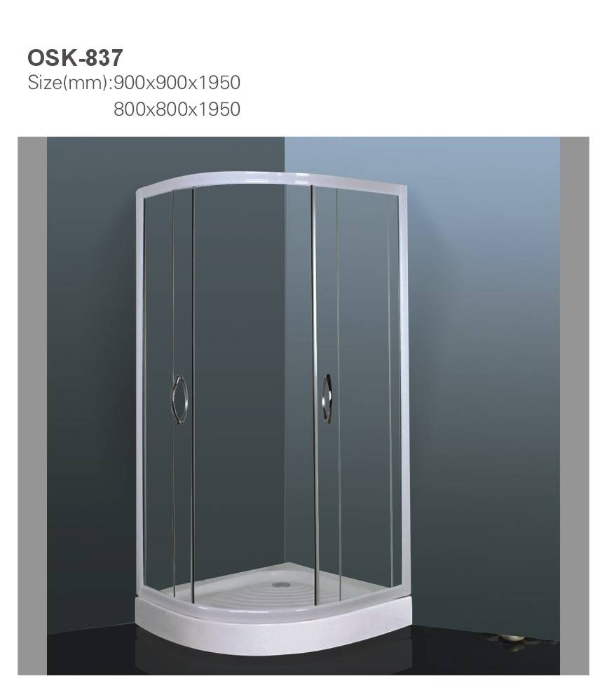 Shower Enclosure Simple Shower Room OSK-837