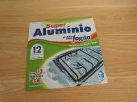 Aluminum foil stove protecting cover