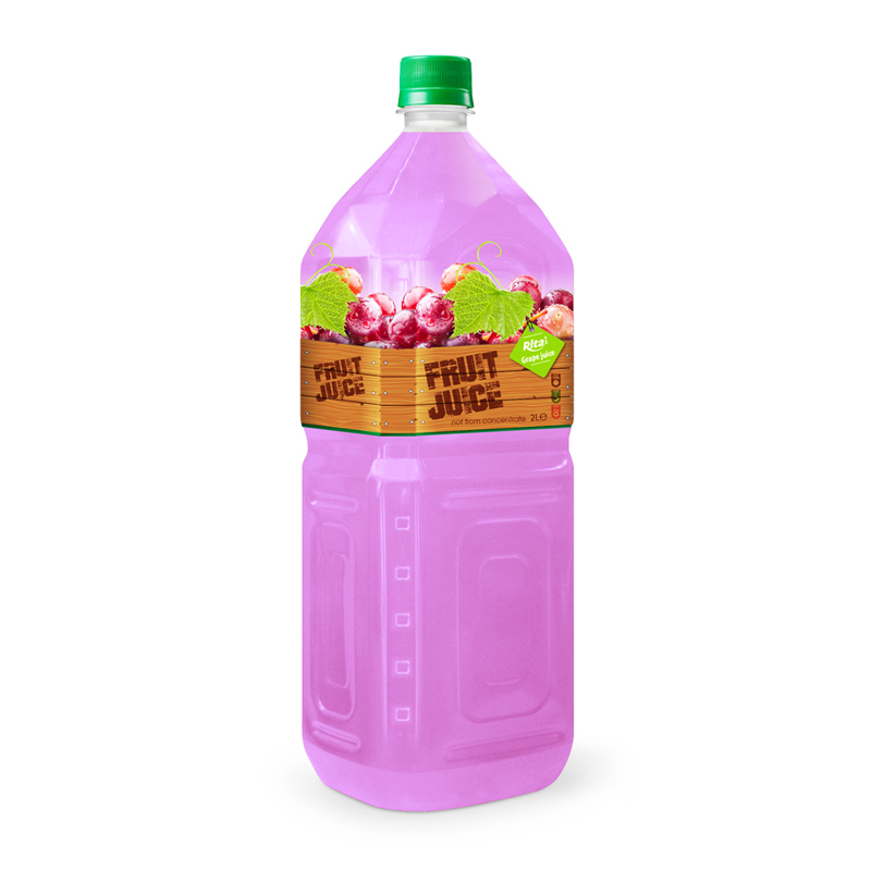 Tropical Fruit Drinks Grape 2L Pet | private label beverage manufacturers
