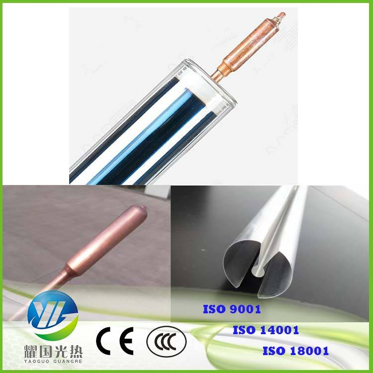 Yaoguo Solar 3 target heat pipe solar vacuum tubes for Europe