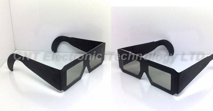 Paper Circular Polarized Anaglyph 3D Glasses