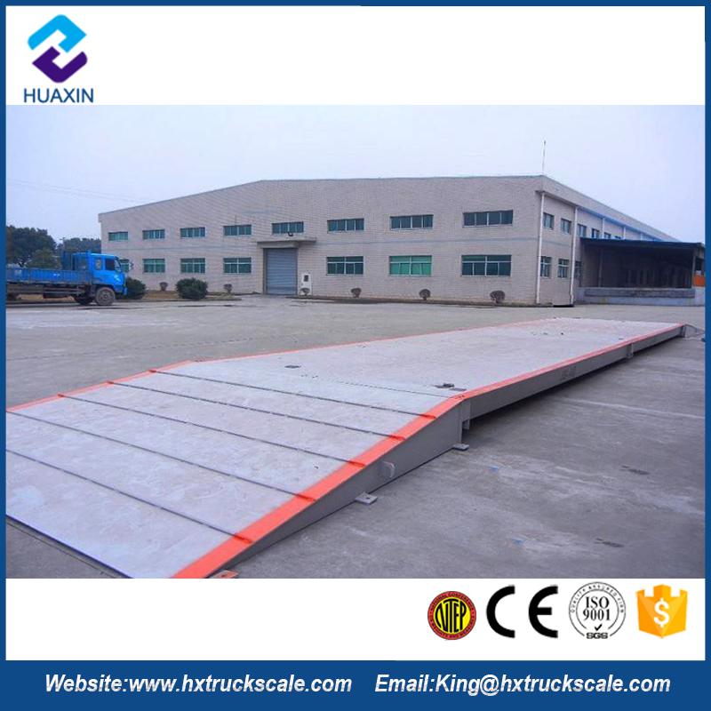 New Generation Good Measuring Stability 60 Ton Truck Scale