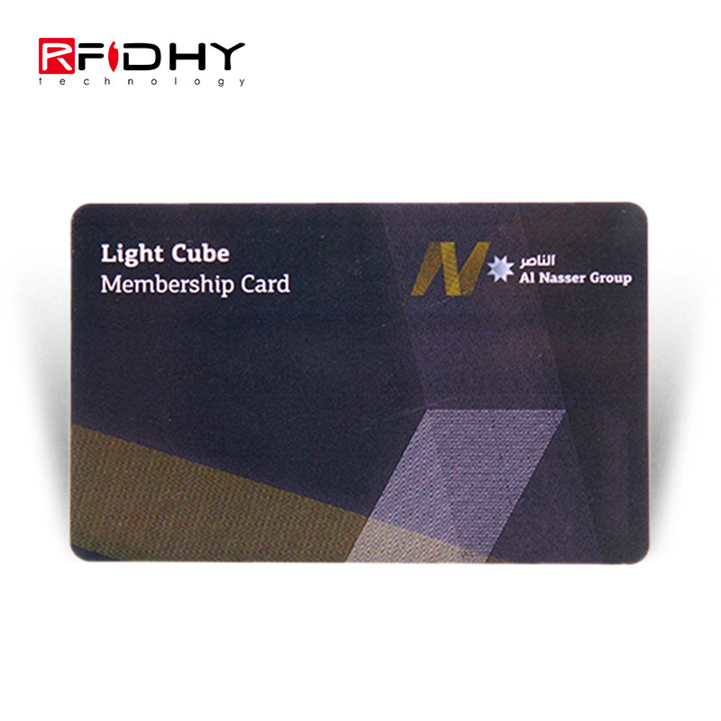 13.56MHz Programmable Passive RFID Card for Membership Management