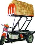 48V electric unloading brick kiln tricycle