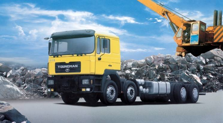 Chassis Truck Series GW1310FD1J1 for oil field