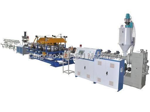 HDPE PP Single Wall Electricity Cable Protection Pipe Extrusion Line