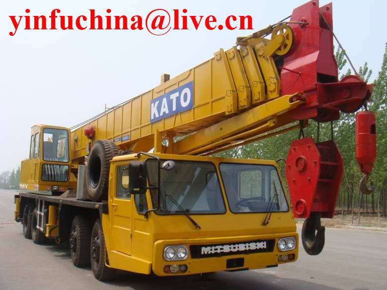 50 tons Kato truck crane