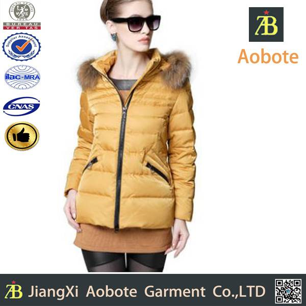 2014 new fashion custom outdoor man down jacket,down coat
