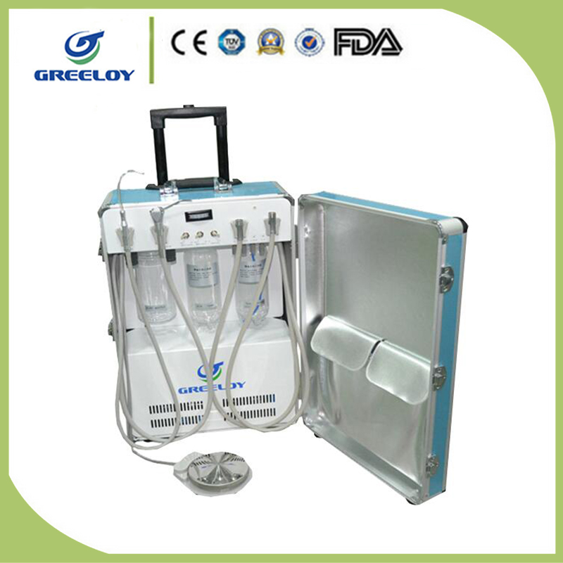 Factory Supply High Quality Portable Dental Unit With Air Compressor