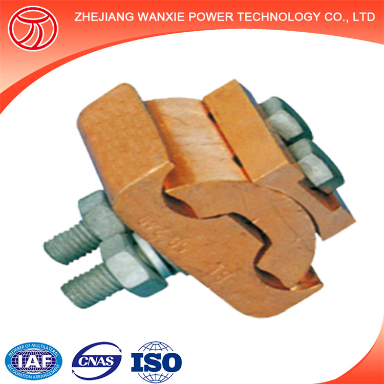 JBT Shaped copper wire parallel groove connector