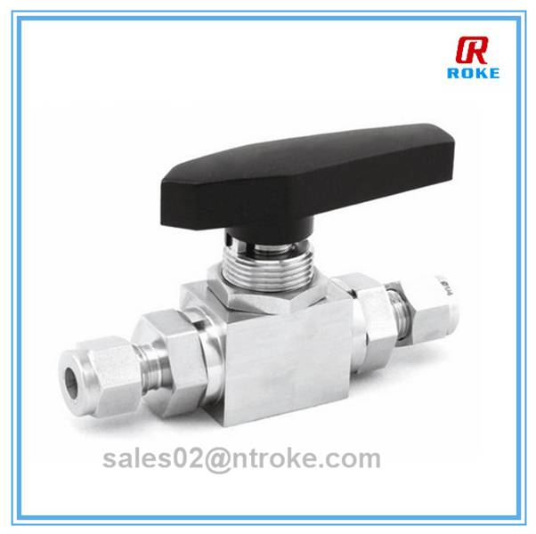 3 way 4 inch stainless steel ball valve