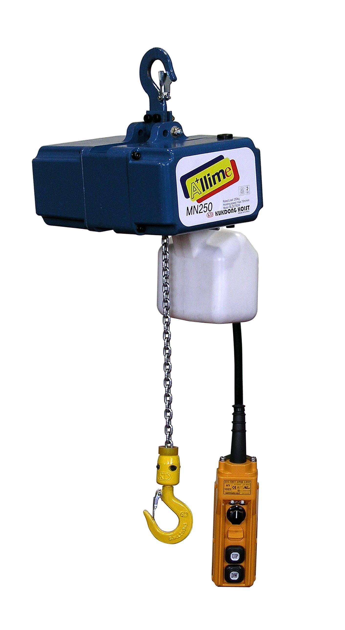 KUKDONG ELECTRIC CHAIN HOIST KD-MN TYPE