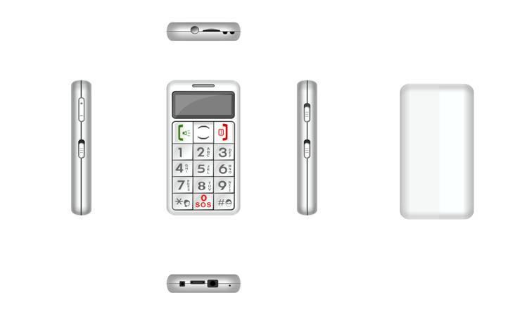 CEFON 8380 dual card Senior phone with GPRS