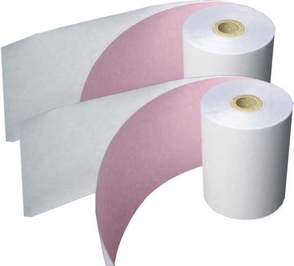 small carbonless paper