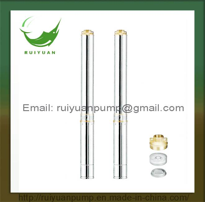"4"" 1.5KW 2HP Cheap Price High Quality Copper Wire Stainless Steels Deep Well Submersible Water Pump"