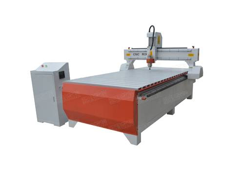 1325G with round rail T-slot advertising cnc router 3.5KW water-cooking spindle