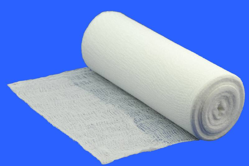 Medical Gauze Roll/100% Cotton Gauze Roll