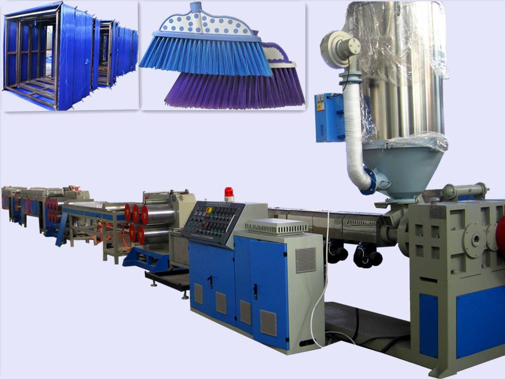 PET/PP Broom Filament/Wire/Yarn Extrusion Line