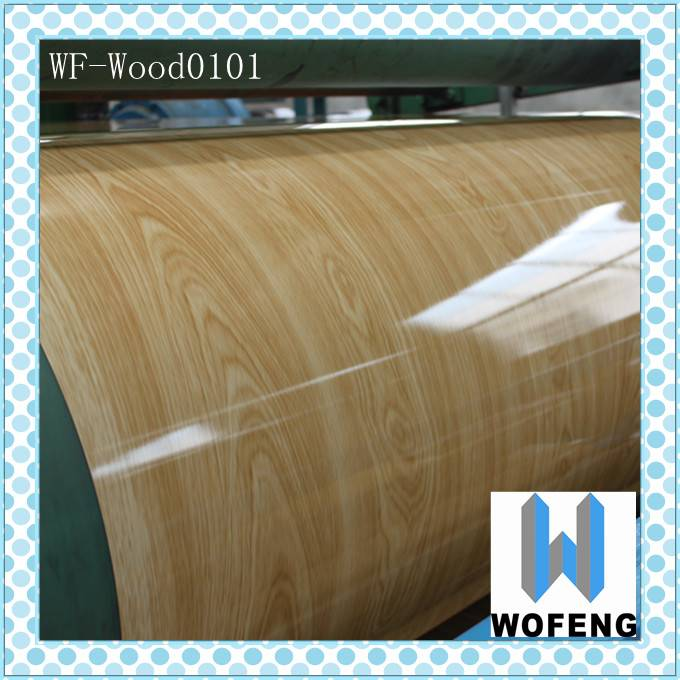 pre-painted wood grain galvanized designer furniture stone