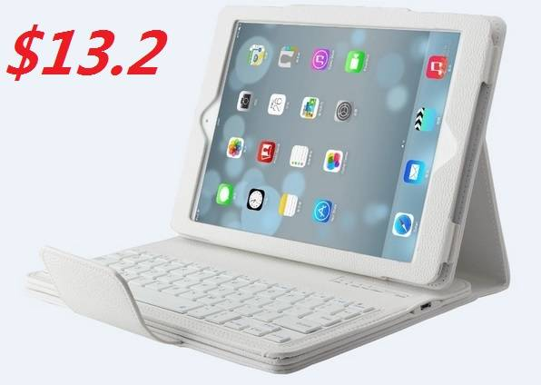 4 colors Removable Wireless Bluetooth Keyboard Case Cover Stand for iPad 2/3/4/5/Air