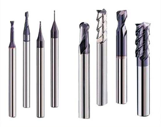 Factory customization solid carbide flattened & R & ball nose end mills