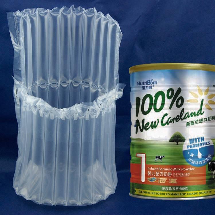 Milk powder inflatable air bag
