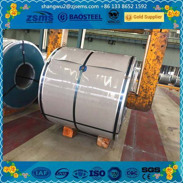 GI / Hot Dipped Rolling Zinc Coating Galvanized Steel Coil for Construction