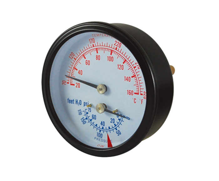 thermobarometer-steel case, crimped ring