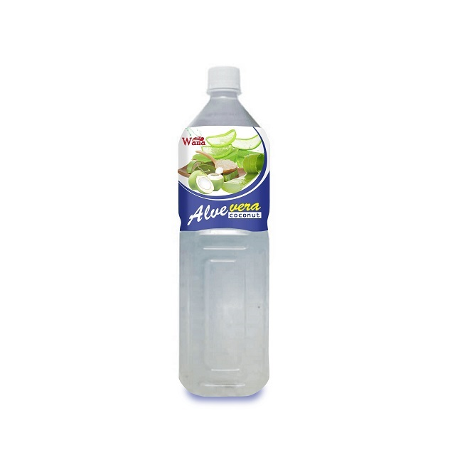 Wholesale Aloe Vera Juice Drink With Coconut Water Bottle 1.5L