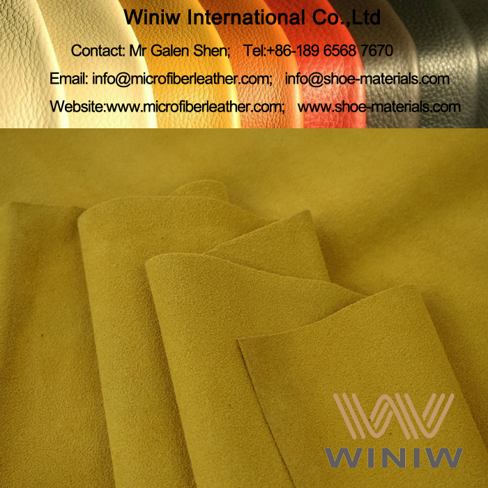 High Quality Stretch Faux Suede Fabric Material for Boots