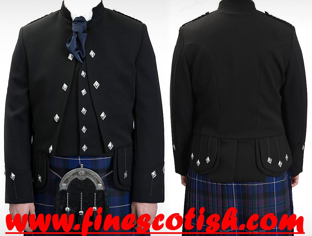 New Handmade Sherifmuir/Sherriffmuir/Sheriffmuir Doublet Kilt Jacket & Vest.