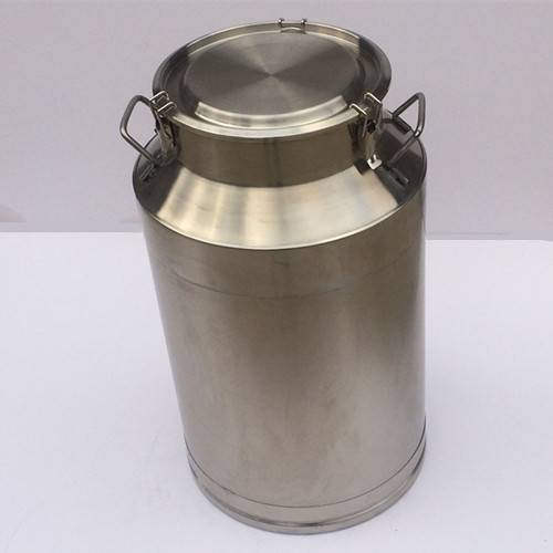 Well sealed stainless steel milk barrel wine drum