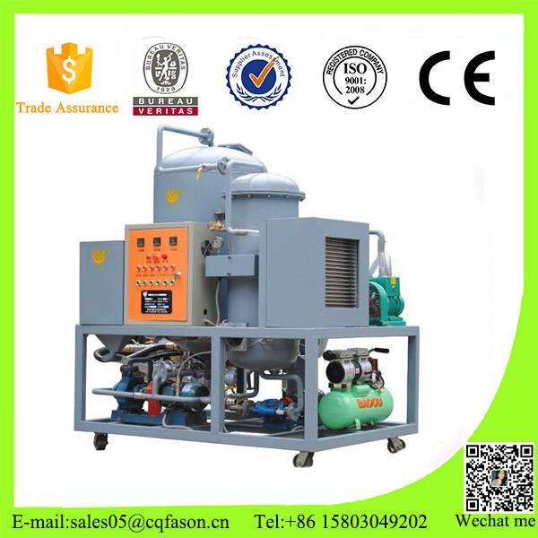 Used Cooking and frying oil recycling machine, Biodiesel oil pre-filtration system