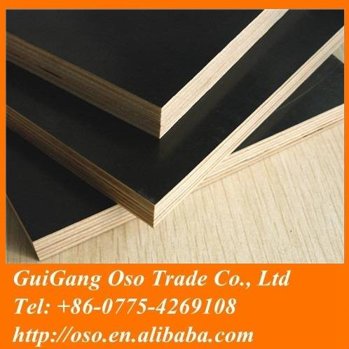 Chinese black film faced plywood