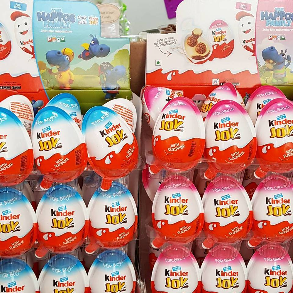 KINDER JOY BOY / GIRL