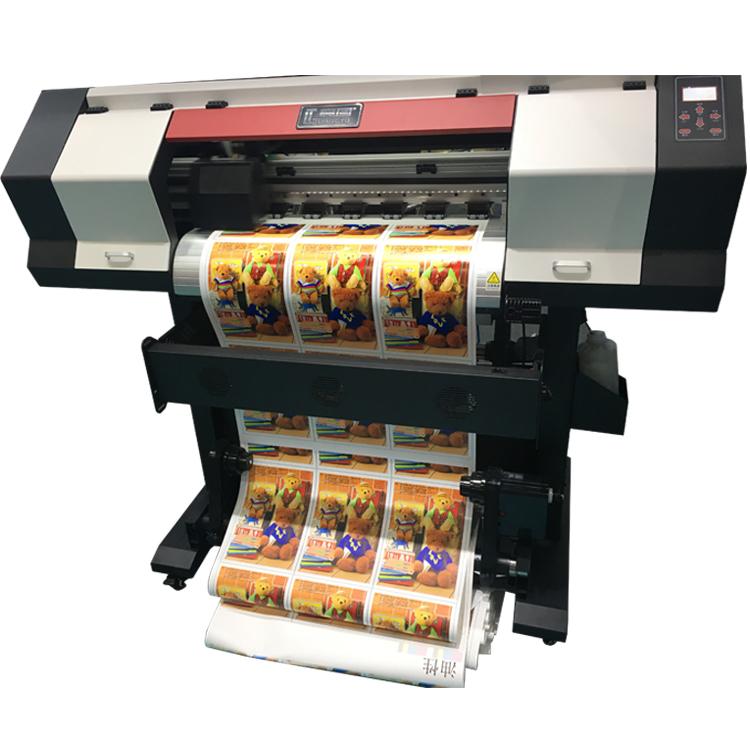 Small Size Digital Printer Vinyl Inkjet Printer ECO Solvent Printer Textile Inkjet Printer