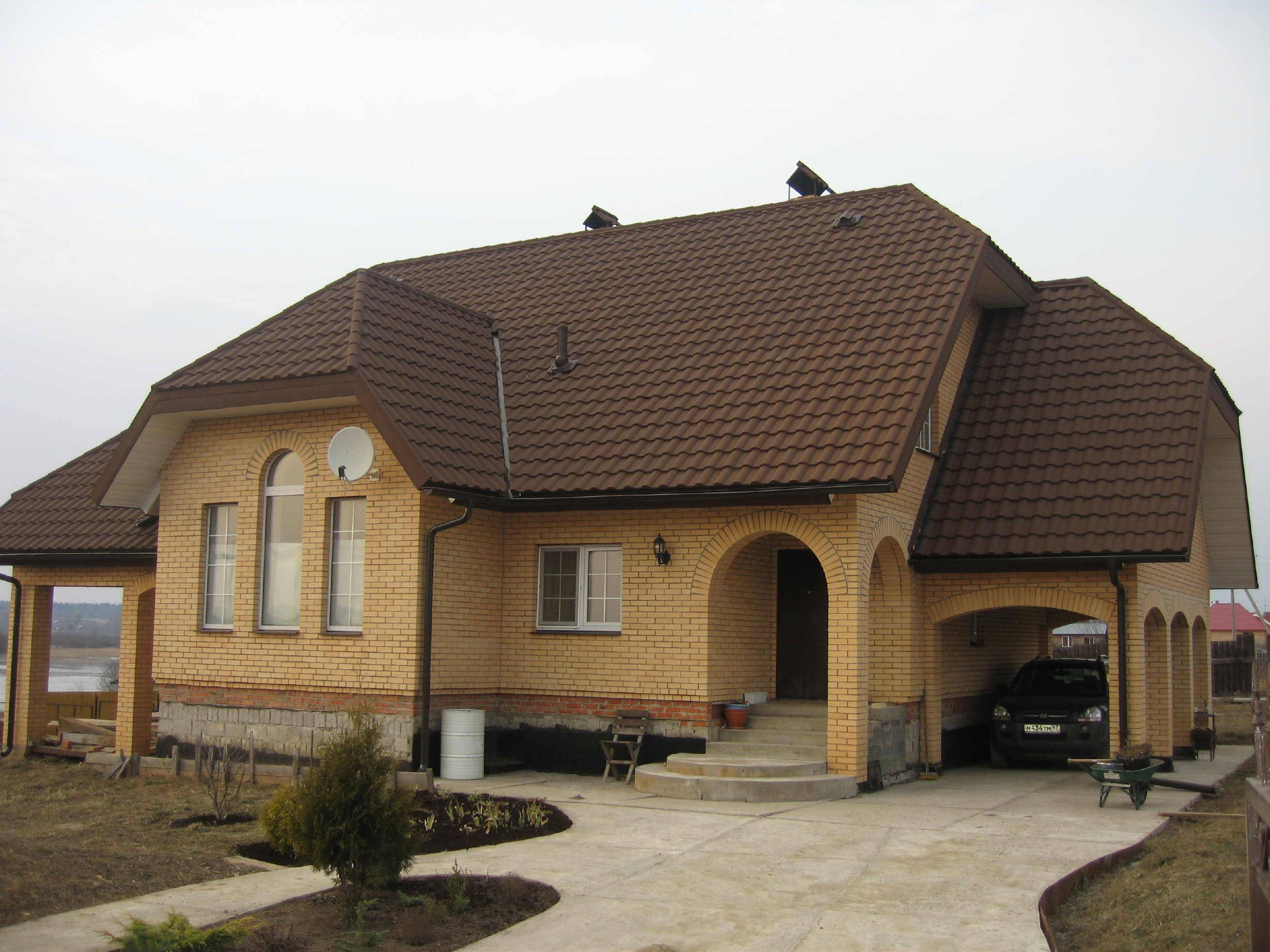 Wave Style Stone Coated Metal Roofing Tiles