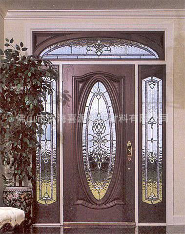 mdf solid core wood door