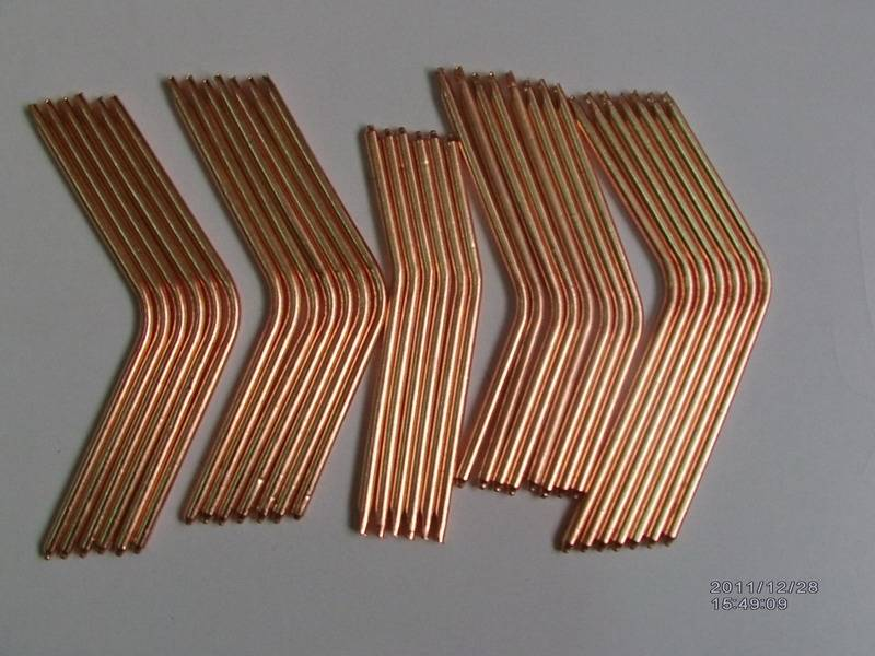 groove heat pipes for audio and video cooling