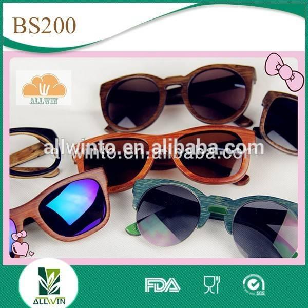 TOP Sell Bamboo Wood Sunglasses