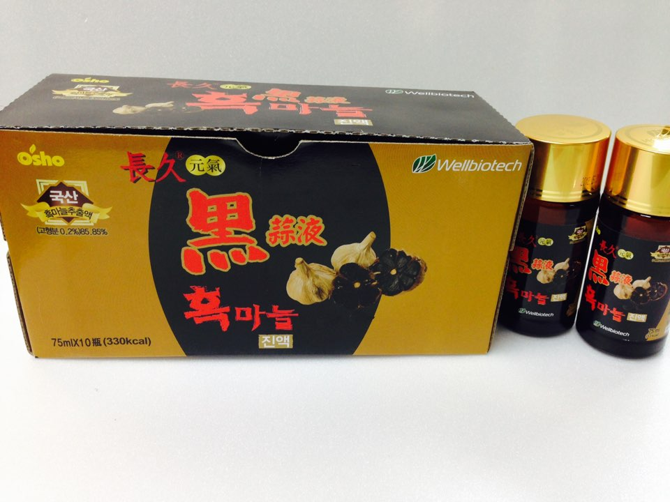 Heulmaneul korean black garlic extract liquid tea