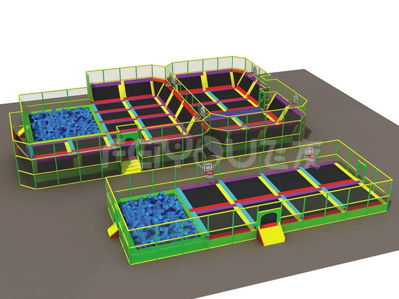 The Adult Trampoline Floor Park Fitness Price For Sale FY827701