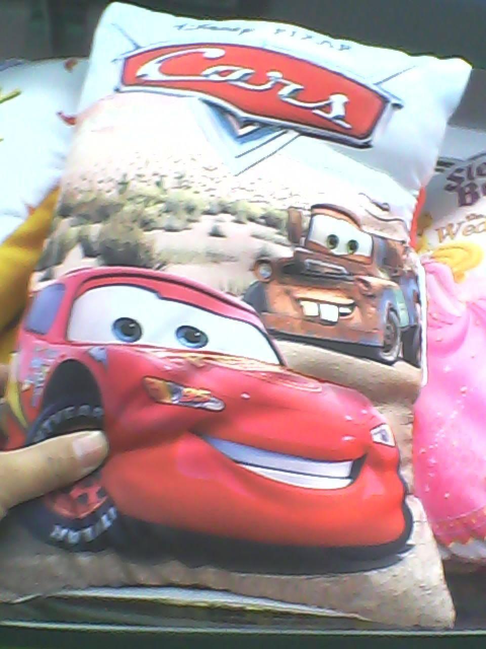 children pillow  storybook pillow  in English  dora  winne  car   spideman