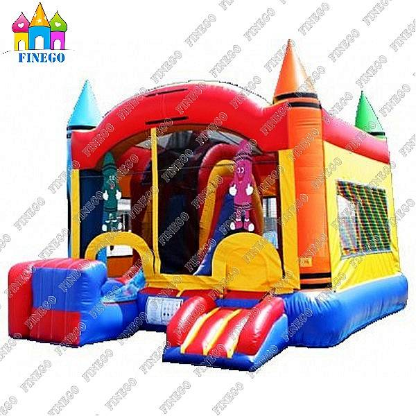 Professional Giant Inflatable Jumping Slide