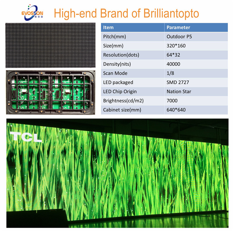 P5 Outdoor Full Color LED Display