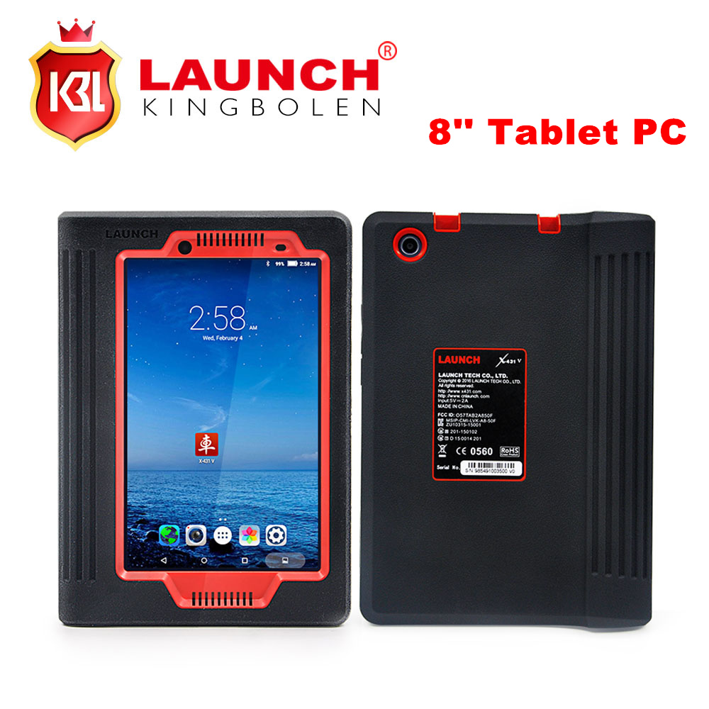 2017 New Arrival Launch X431 V 8'' Lenovo Tablet PC Free Update Via Official Website X-431 V