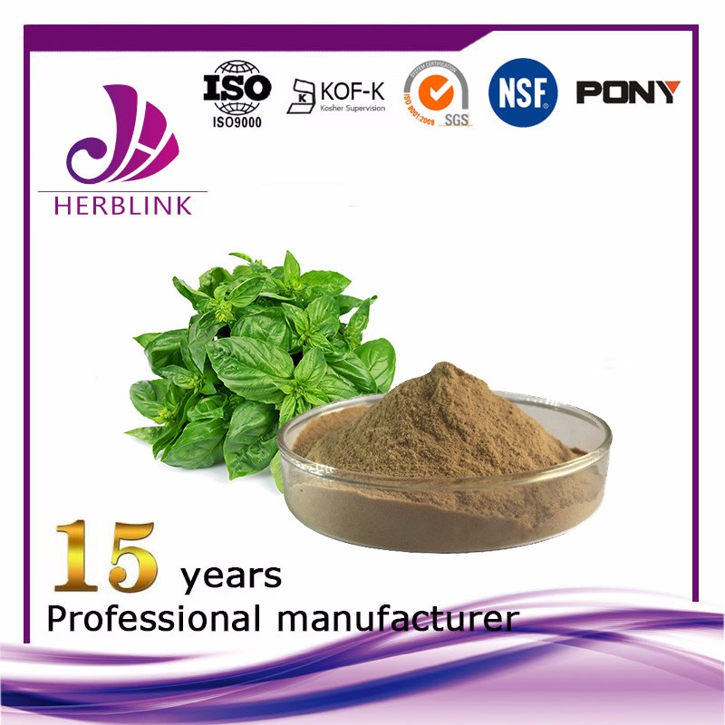 Basil Leaves Extract 10:1, Ursolic Acid 2.5%