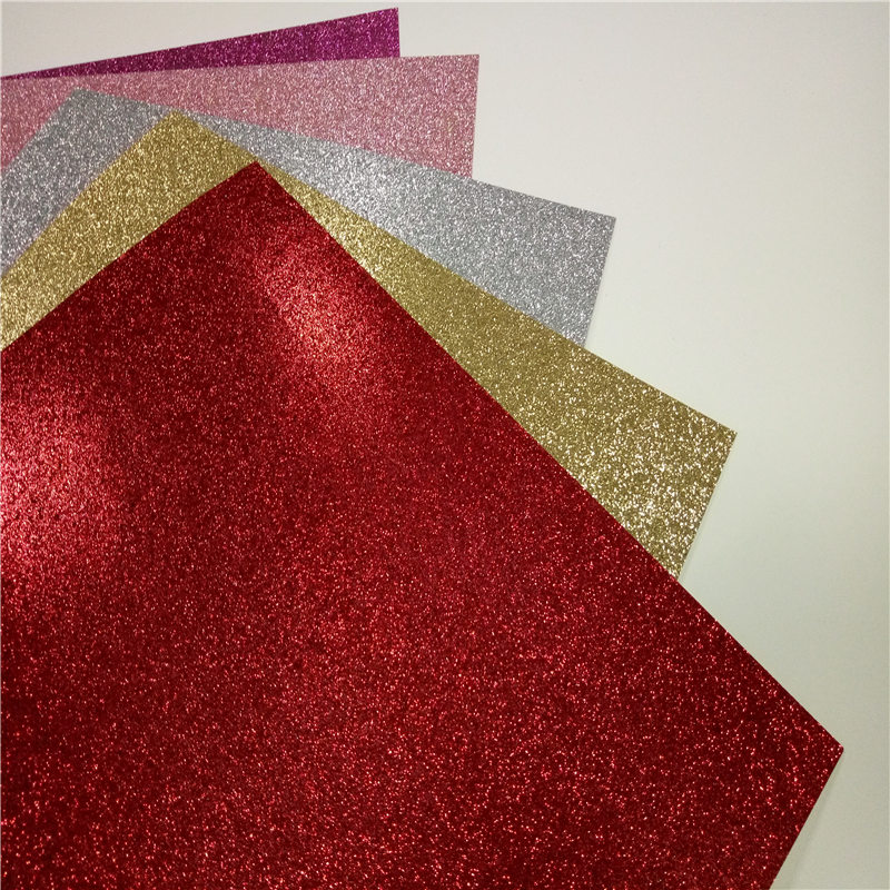 12x12in glitter craft paper Cardstock Christmas decor