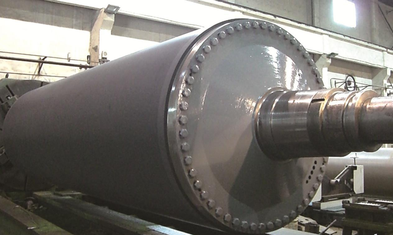 Blind drilled press Roll for paper making machinery