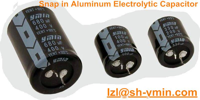 Standard 3000hours snap-in aluminum electrolytic capacitor SW3